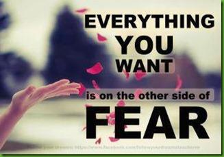 yoga fear quote ami fox facebook
