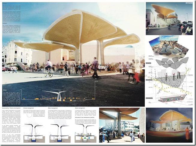 TomDavid Architects wins 1st prize in international architecture competition [AC-CA] Casablanca_1