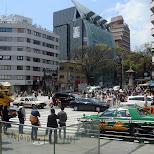 Omotesando crossing in Harajuku in Harajuku, Tokyo, Japan