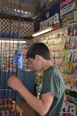 Shopping for a new fishing pole