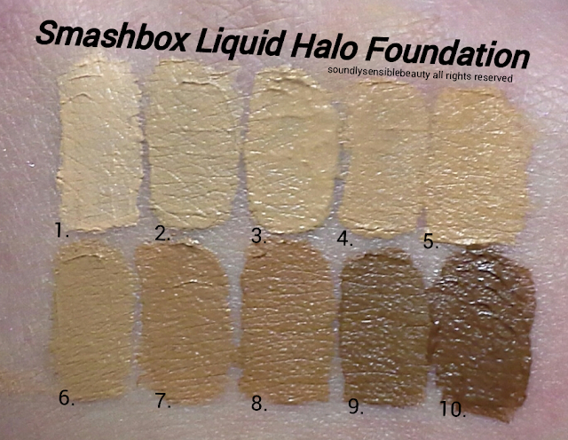 Smashbox High Definition Halo Foundation Liquid Makeup