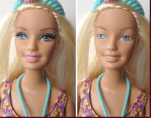 Barbie Berias Vs Barbie Natural