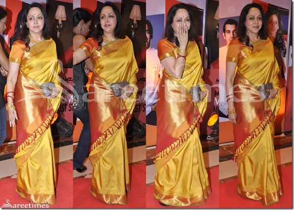Hema_Malini_Gold_Traditional_Silk_Saree