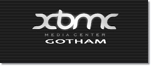 XBMC Media Center 13.0 Gotham Beta 1