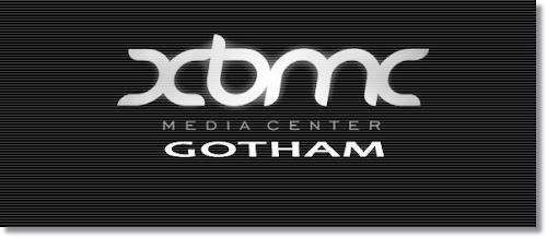 XBMC 13 Gotham