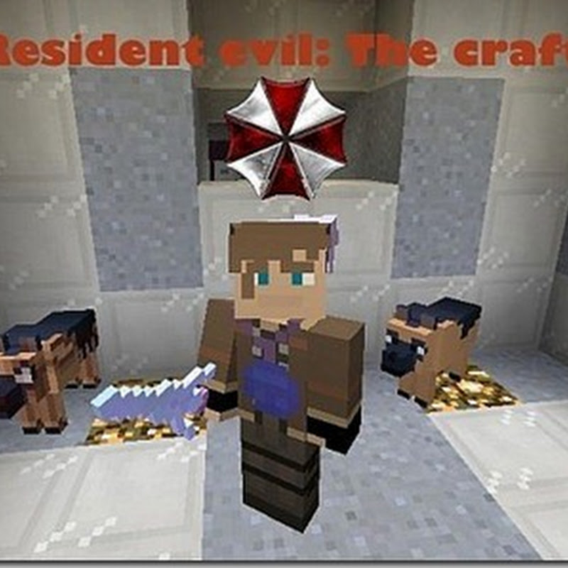 Minecraft 1.4.2 - Resident Evil: The crafting Texture pack 16x