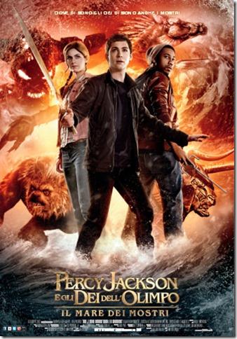 Percy Jackson e gli dei dell'Olimpo - Il mare dei mostri  locandina