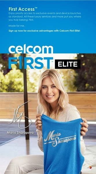 Maria Sharapova Duta Celcom First Elite