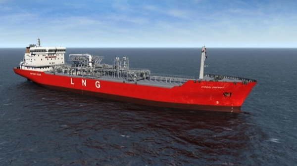 CC Photo Google Image Search Source is upload wikimedia org  Subject is Coral Energy LNG tanker