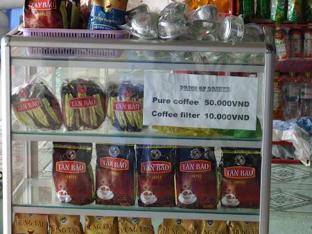 Vietnam, tara cafelei Robusta
