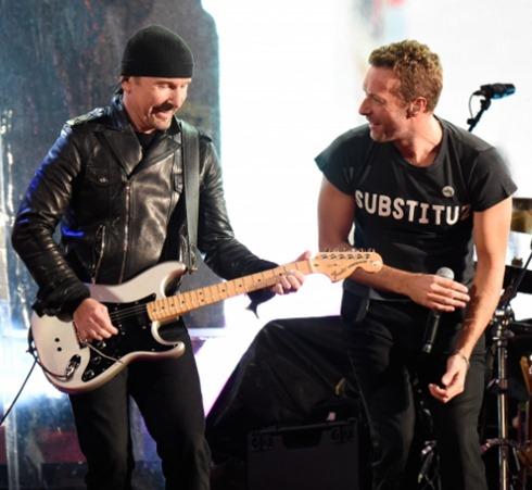 RED chris martin U2