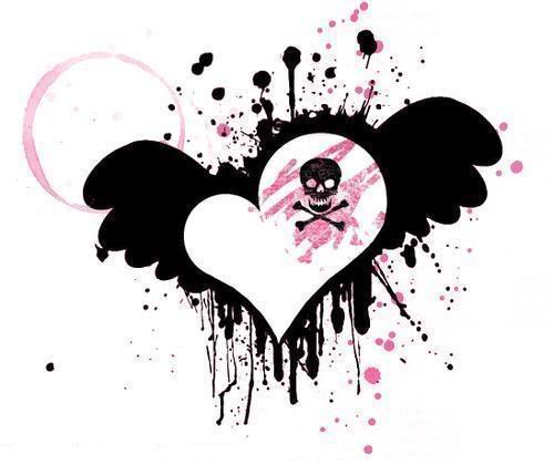 Corazones rotos por amor emo - Imagui