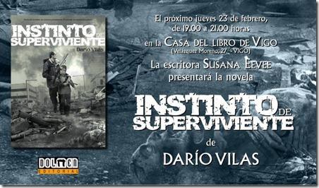 Invitación Instinto de superviviente