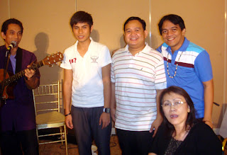 Cultural Music Icon Joey Ayala together with Lucky, Sir Ervin, Sir Jojo and Director Gigi Ruiz