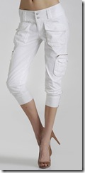 7 for All Mankind White Aviator