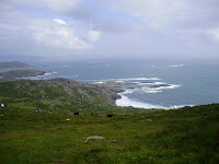 Coastal views to the Dingle Peninsula.