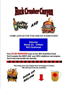 RCC CHILI COOKOFF 1