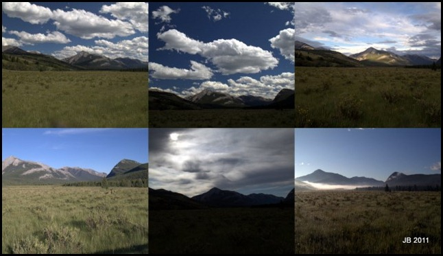 The many different looks of Eagle Pass from our camp