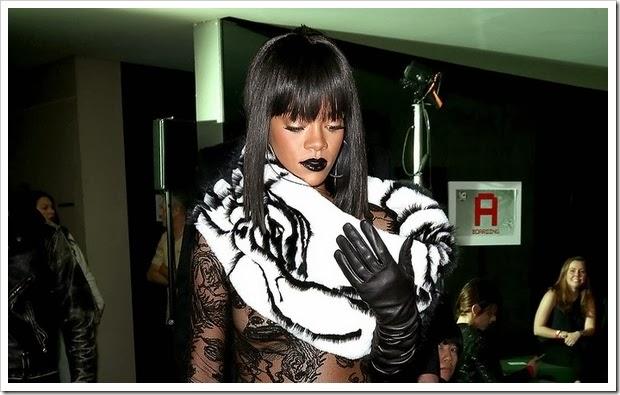 Rihanna Polemica Paris 06