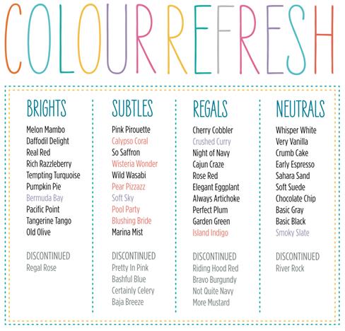 colour refresh