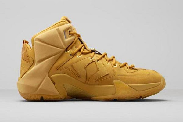 Nike Brings 8220Wheat8221 AZG to Life with New LeBron 12 EXT Design
