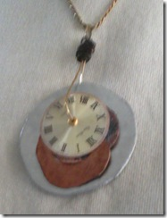 watch part necklace