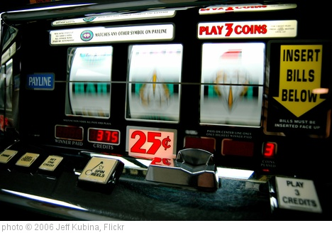 'Slot Machine' photo (c) 2006, Jeff Kubina - license: http://creativecommons.org/licenses/by-sa/2.0/