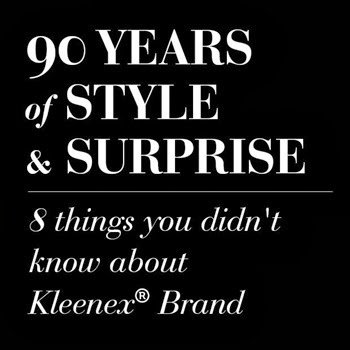 90 Years of Style With Kleenex