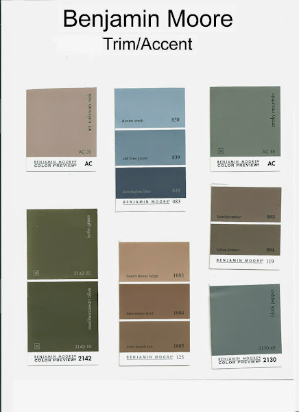 Paint color combinations casual cottage for Choose paint color scheme