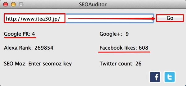 2mac app business seoauditor