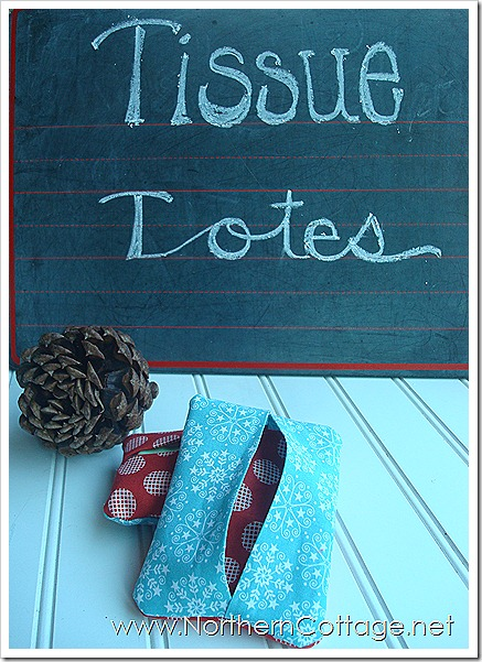 Cutie Tissue Tote @ NorthernCottage.net