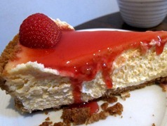 Jak's Strawberry Cheese Cake