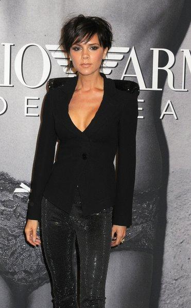 Victoria Beckham's short pixie Hairstyle