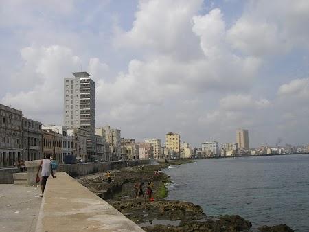Obiective turistice Cuba: Malecon