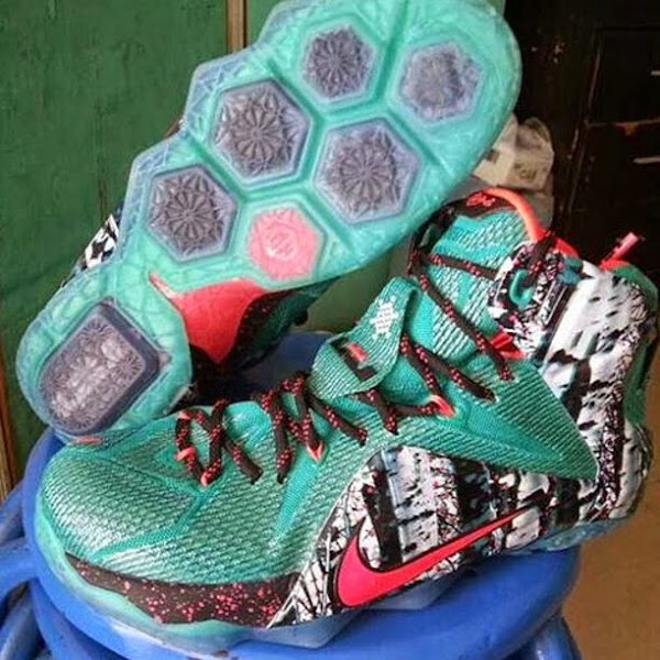Another Angle of Possible 8220Christmas8221 Nike LeBron 12