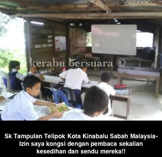 Sabah Negeri Semakin Meningkat Kaya? Tengok Sekolah Bawah Seliaan TPM