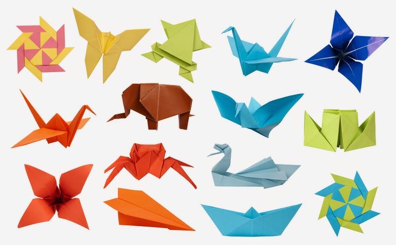 Какие могут быть оригами