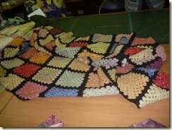 Sonya's Crochet rug