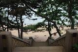 Qingdao - Badaguan - De l'autre côté, la plage