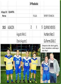 Abraco depois de dois gols-Gui Zelao