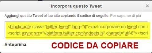 codice-implementare-tweet