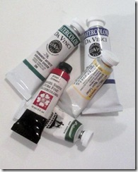 tube paints