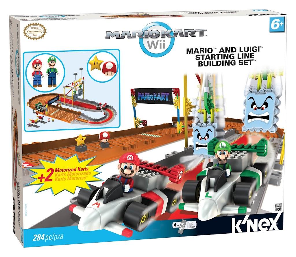 Bricker Construction Toy By Knex 38435 Mario And Luigi Starting