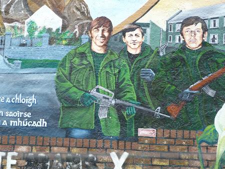Obiecticve turistice Irlanda de Nord: murals din Belfast