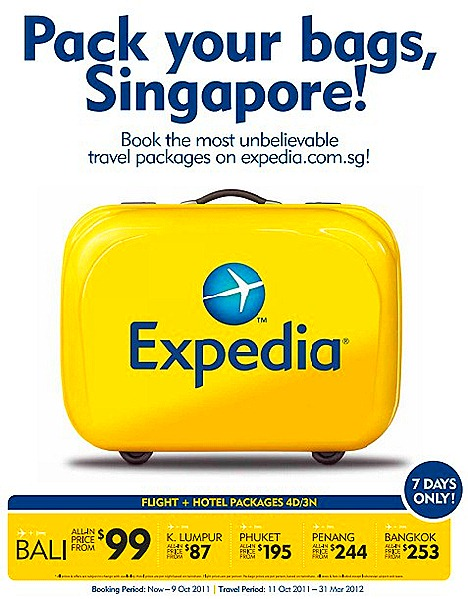 Expedia Singapore Offers