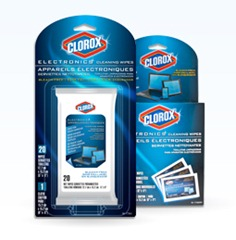 Clorox Electronic Cleaning Wipes