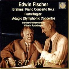 Brahms concierto piano 2 Furtwaengler Fischer