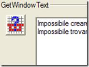 Come copiare testo da finestre Windows dove normalmente è impossibile farlo