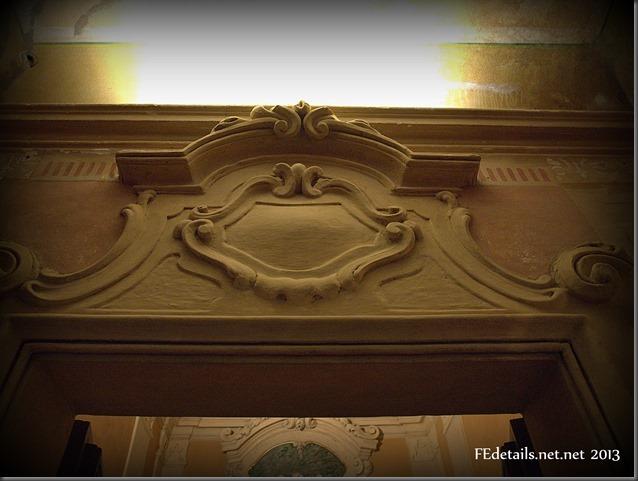 Residenza estiva di Belriguardo: cappella privata, Voghiera, Ferrara - Summer residence of Belriguardo: private chapel, Voghiera, Ferrara, Italy, Photo2