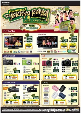 Sony-Promosi-Syoknya-Raya-2011-EverydayOnSales-Warehouse-Sale-Promotion-Deal-Discount